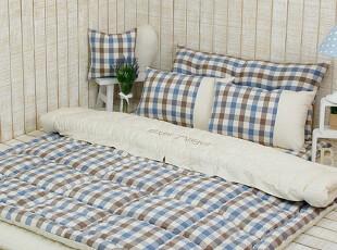 【Asa room】韩国进口床品代购 田园格子被子地板用四件套 c470-1,床品,