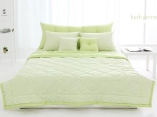 【Asa room】韩国进口代购床品 绿色夏凉被纯棉 正品田园 c823,床品,