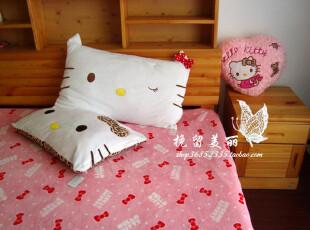 2012最新 冲皇冠特价 hello kt 拆洗单人枕头套 卡通枕套不含枕芯,床品,