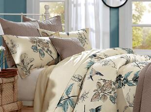 Harbor House 热销床上用品 Pyrenees花鸟活性印花四件套,床品,