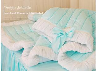 韩国名品design-julliette*薄荷香*薄荷色护床垫*舒适床褥1446,床品,