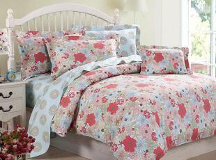 Gardenia格蒂雅-40支纯棉贡缎印花床品四件套-繁花似锦,床品,