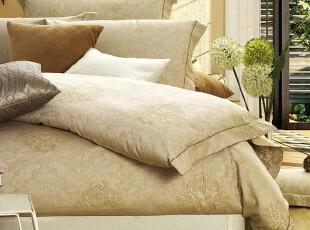 F2112 巴黎Yv**es Delormes专版花型 60纱支长绒棉 色织四件套,床品,