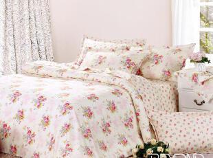 品牌特卖 博洋家纺 床单四件套 全棉斜纹印花 床上用品 花海情缘,床品,
