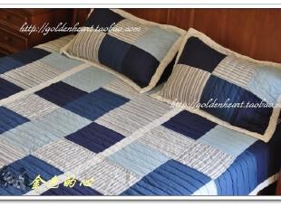 9折!手工绗缝被三件套(棉布质感无敌了)空调被、夏凉被 3.6KG,床品,