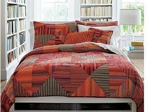 流沙款一~拼布手工绗缝被三件套、床盖,床品,