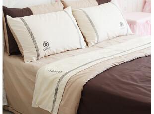 花开木木 时尚套件 床品套件 时尚系列-咖啡渐染,床品,