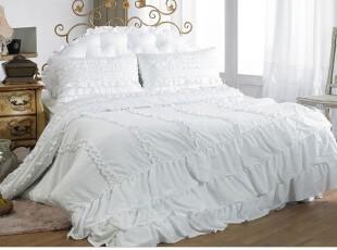 【今日特价直降100】韩国进口代购床品 公主加厚型被套枕套 c772,床品,
