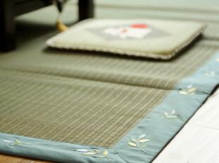 【7折特价】出口 日式榻榻米凉席 天然蔺草席子客厅茶几地毯地垫,床品,