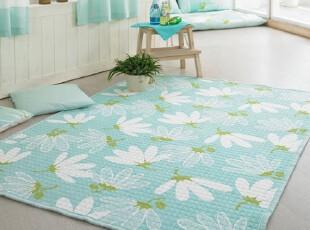 【Asa room】韩国进口代购床单 双人纯棉客厅地毯爬行垫 dc144-m,床品,