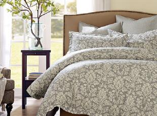 Harbor House 床上用品 时尚套件 Preston全棉印花被套三件套,床品,