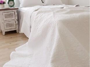 韩国进口 白色衍缝空调被 夏用被子 空调被套件,床品,