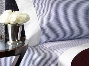 美国大牌-210TC 色织平纹床单套件 有配套床品,床品,