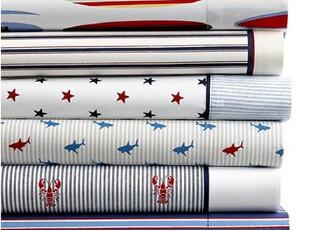 美国进口-Tommy Hilfiger 床单床笠枕套组合 QUEEN SIZE,床品,