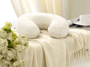 宝缦家纺 慢回弹脖枕枕头 护颈椎健康枕芯 特价包邮 U型护颈枕,床品,