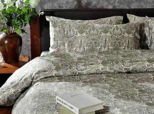 F2232 古典宫廷经典佩斯利花纹系列 纯棉贡缎 床上用品 四件套,床品,