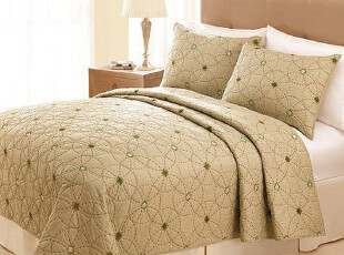 JF2512 美国home classics  绗缝被 三件套,床品,