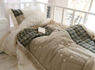 玫兰雅舍 韩国进口拼布床上用品/盖被/被子,床品,