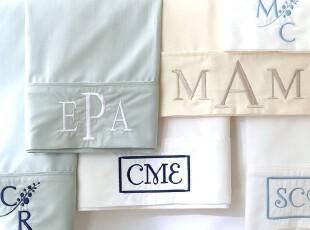 【纽约下城公园】高质丝棉质感纯棉白色/象牙色床单/床笠/枕套,床品,