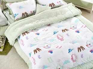 韩国代购 可爱儿童卡通全棉被子床品套件床上用品四件套,床品,