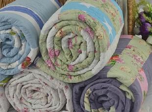 包邮特价 纯棉空调夏凉被 绗缝被 婴儿被幼儿园被午休被 拼布多色,床品,