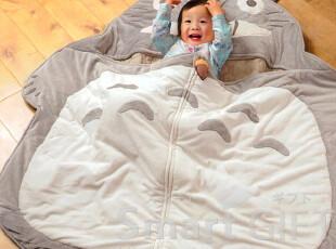 超可爱日本专柜正品宫崎骏龙猫春秋冬婴幼儿睡袋儿童睡袋被子,床品,