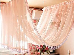 ●公主梦想●韩国家居*唯美浪漫*精致珠饰波浪式床幔* C1376,床品,
