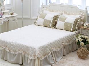 『韩国网站代购』打动人心的温暖作品 田园感古朴水洗棉床裙,床品,