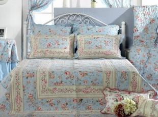 『韩国进口家居』n0090 经典玫瑰图案夏季凉被套件,床品,