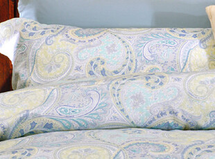 Benito高端-纯美式菲罗娜佩斯利500TC埃及棉四件套 1.5 1.8 2.0床,床品,