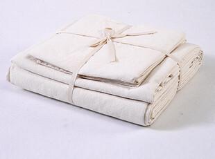 有机棉 水洗棉三件套(被套+枕套2个) 原单,床品,