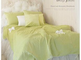 韩国design-julliette*定制*苹果の绿*温暖极细丝床品套装2088,床品,