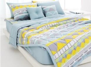【Asa room】韩国进口代购床品 简约夏凉被纯棉套四件套正品 c824,床品,