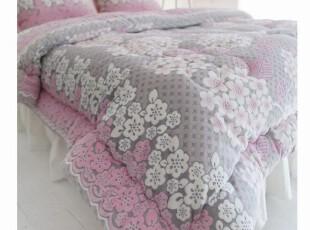 韩国进口代购婚庆床品短绒套件韩式1.8米床上用品四件套,床品,