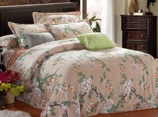 艾诗曼家纺 冬季保暖加厚天鹅绒床上用品四件套 2012新款,床品,