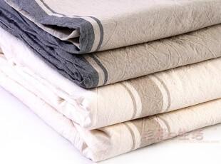 新知生活 出口日本 水洗棉条纹 全棉 新疆棉被套MUJI无印良品,床品,