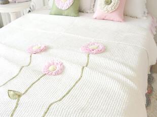 现货!韩国正品代购 白色超柔夏用被空调被床上用品三件套(9折,床品,