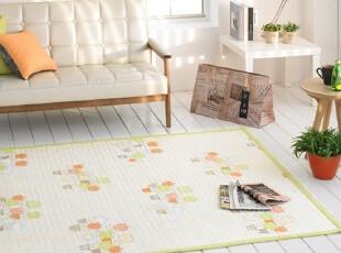 【Asa room】韩国进口代购床单 田园纯棉地毯爬行垫正品 dc173-g,床品,