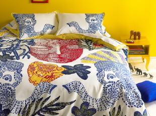 美国布莉丝 慈善公益产品 床品四件套 贡缎面料 全棉 童趣迎春,床品,