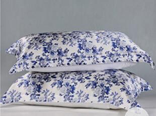 真丝枕套 伊伊爱 丝绸枕头套美容护肤枕巾 100%双面桑蚕丝 青瓷兰,床品,