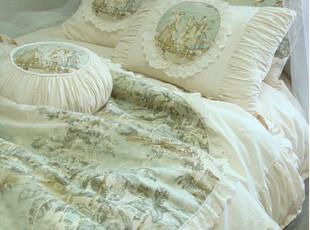 『韩国网站代购』法国浪漫气息 爱精致生活欧式床品套件,床品,