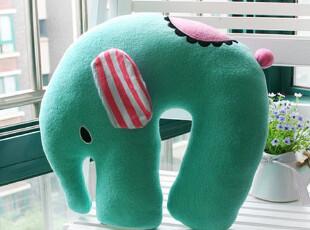 可爱薄荷小象u型枕脖子靠枕保健枕头治颈椎病专用护颈枕颈椎枕头,床品,