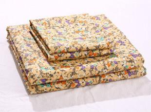 田园风 天丝棉 平纹布 印花 床上用品四件套,床品,