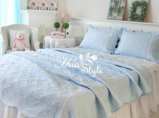 〓持家太太〓韩国家居*蓝粉佳人*韩国空调被套件OR8005(3色),床品,