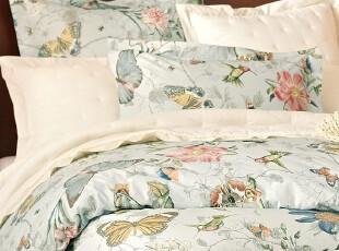【纽约下城公园】 惊喜回归 蝴蝶花园精致全棉被套 另附枕套 现货,床品,