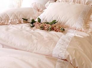 *在韩国定做*韩国粉色 高档婚庆床上用品3件套MH80002,床品,