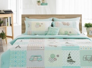 【Asa room】韩国进口代购床品 卡通糖果色夏凉被棉空调被 c801-m,床品,