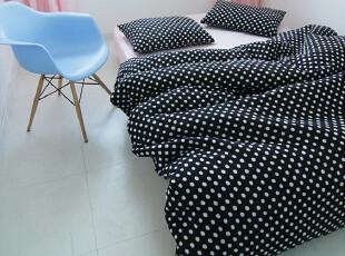 【Asa room】韩国进口代购床品可爱圆点双面用纯棉简约四件套c902,床品,