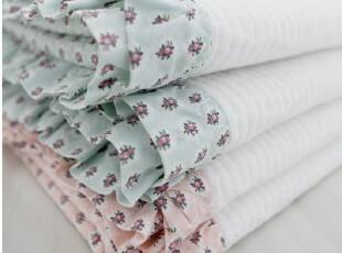 韩国进口代购 夏用被子薄被床上用品3件套空调被(2色),床品,