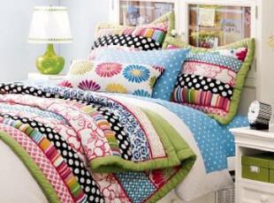 特价推广  美国全进口-全棉手工绗缝被80支纱 云丝填充 国内现货,床品,